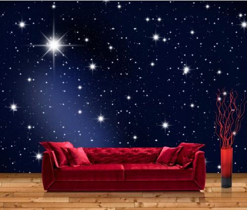 premium vliestapete fototapete sternenhimmel sterne universum weltall 400x280 cm ebay. Black Bedroom Furniture Sets. Home Design Ideas