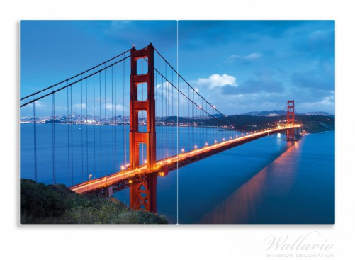 herdabdeckplatte golden gate bridge in san francisco usa. Black Bedroom Furniture Sets. Home Design Ideas