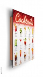 Deco Panel Cocktails - german – Bild 2
