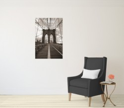 Poster Brooklyn Bridge in New York – Bild 3