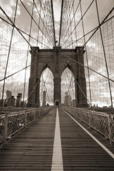 Poster Brooklyn Bridge in New York – Bild 1