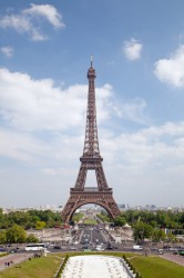 Poster Eiffelturm in Paris – Bild 1