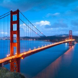 Möbelfolie Golden Gate Bridge in San Francisco, USA – Bild 3