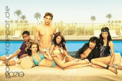 Poster 90210 - poolside