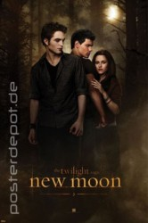 Poster Twilight - new moon – Bild 1