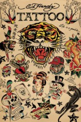 Poster Ed Hardy - Collage - LP