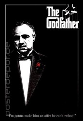 Poster The Godfather - Der Pate - Red Rose