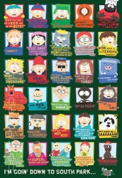 Poster South Park Zitate (eng.)