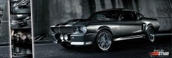 Poster Shelby Ford Mustang GT500 - Medium
