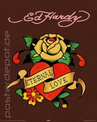 Poster Ed Hardy - Eternal Love – Bild 1