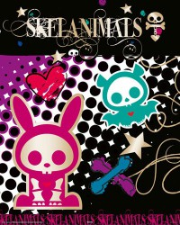 Poster Skelanimals - gold