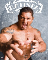 Poster WWE Batista glance