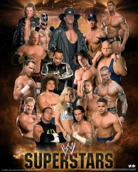 Poster WWE Superstars Compilation 1 - Mini