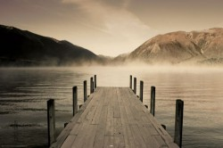 Poster Jetty - Lake Rotoiti