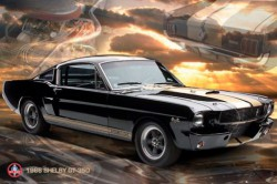 Poster Ford Shelby Mustang 66 GT 350