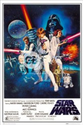 Poster Star Wars - one sheet b