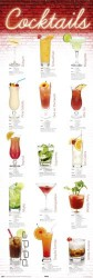 Poster Cocktails - german