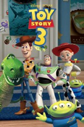 Poster Toy Story 3 - glow in the dark