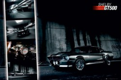 Poster EASTON - Shelby Ford Mustang GT500