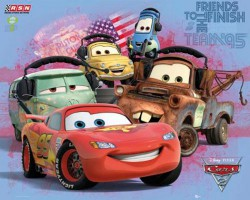 Poster Cars 2 - group