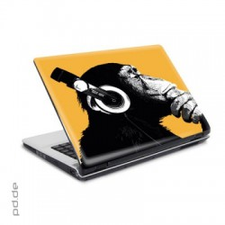 "Laptop Sticker 15,4"" The Chimp - Stereo"