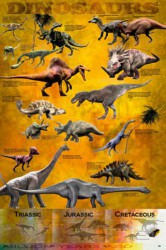 Poster Dinosaurs - Chart