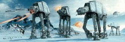 Poster Star Wars - hoth