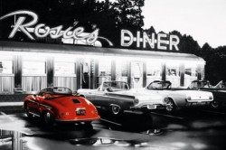 Poster Rosies Diner