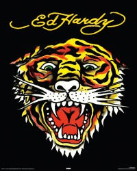 Poster Ed Hardy - Tiger mini