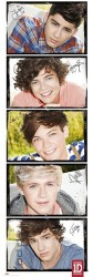 Poster One Direction - solo's