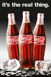 Poster Coca-Cola - real thing