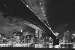 Deco Panel Manhattan night – Bild 1