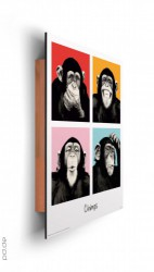 Deco Panel The Chimp - pop – Bild 2