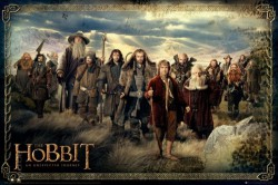 Poster The Hobbit - cast