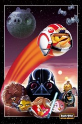 Poster Angry Birds Star Wars Collage
