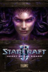 Poster Starcraft II - Heart Of The Swarm - Queen of Blades