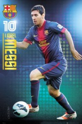 Poster Barcelona - Lionel Messi