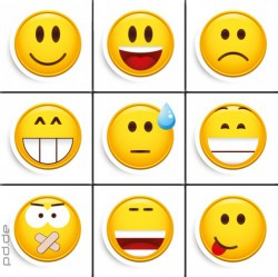 Deco Magnets Smile - Smileys