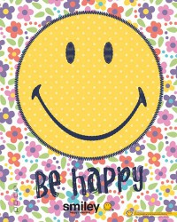 Poster Smiley - Be Happy