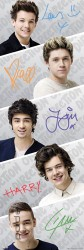 Poster One Direction Boygroup Band