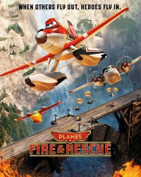 Poster Planes: Fire and Rescue