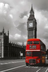 Poster London Red Bus