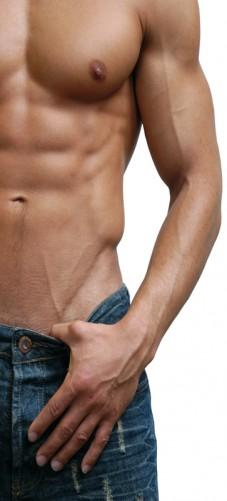 Selbstklebende Tapete Entfernen : Selbstklebende T?rtapete Halbnackter Mann mit Jeans
