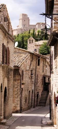 Selbstklebende Tapete Entfernen : Selbstklebende T?rtapete Italienische Gasse