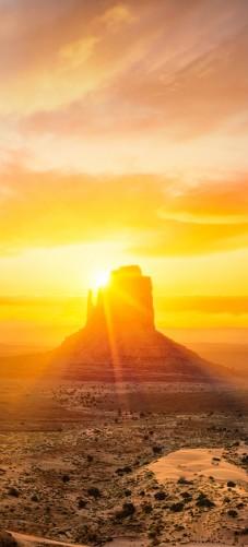 Selbstklebende Tapete Auf Rechnung : Selbstklebende T?rtapete Monument bei Sonnenuntergang