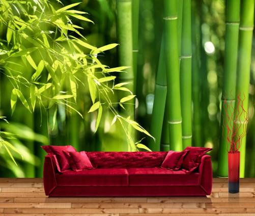 vliestapete bambus. Black Bedroom Furniture Sets. Home Design Ideas