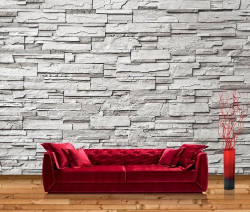 vliestapete graue steinwand. Black Bedroom Furniture Sets. Home Design Ideas